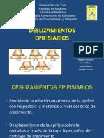 Deslizamientos Epifisiarios
