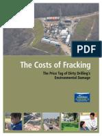 2013 Los costes sociales del fracking