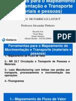Ferramentas Para o Mapeamento de Movimentação e Transporte (Materiais e Pessoas) Final