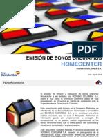 SODIMAC Presentacion a Los Inversionistas