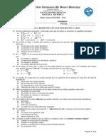 Examen 2 de Fisica General II