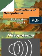 Early Civilizations of Mesopotamia