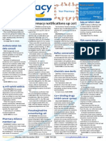 "Pharmacy Daily for Mon 10 Nov 2014 - Pharmacy notifications up 20%, FDA warns Hospira on ""adulterated"" meds, Vax training accreditation fin, Antimicrobial risk data consult, and much more"