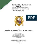 Semantica Linguística Aplicada Evangelista (1)
