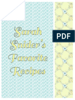 sarahs recipes