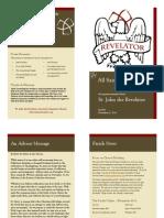St. John's AJC Bulletin NOV 2014
