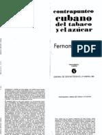 Fernando Ortiz. Contrapunteo cubano del tabaco y el azúcar. Antropología.