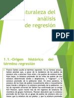 1.- Naturaleza Del Análisis de Regresión