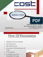 Presentation- Cost Analysis