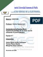 CAD CAM Motor CD