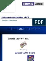 sistema de combustible 2 HPCR