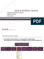 Deal Central and Portfolio Central Training