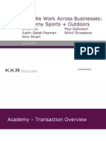 How We Work Across Businesses - Academy Sports Outdoors - Case Study