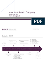 KKR as a Public Company