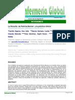La Filosofia de Patricia Benner y La Practica Clinica