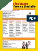UtR Timetable