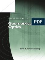 Fiel Guide to Geometrical Optics - JJhon Greivenkamp