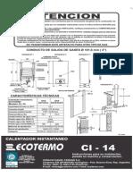 Calefon Cl 14