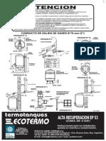 Termotanque Ep 53 c Inf