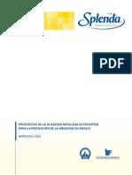 Propuestas de la Academia Mexicana de Pediatría para la Prevención de la Obesidad en México
