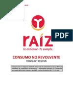 Credito Consumo No Revo