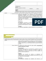 Formato Planeación Pedagógica (No Estandarizado)