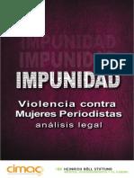 Impunidad Violencia contra Mujeres Periodistas - Cimac