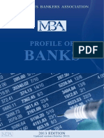 MBA Profile of Banks 2013 Edition Updated