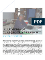 Interview Yves Cooper