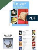 Libro Macramé Fácil y Rápido