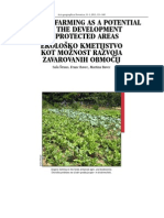 ORGANIC FARMING AS A POTENTIAL FOR THE DEVELOPMENT OF PROTECTED AREAS, Saša Štraus, Franc Bavec, Martina Bavec, 2011
