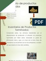 Inventario de Productos Terminados