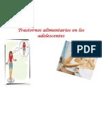Trastornos Alimentarios en Los Adolescentes