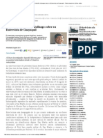 Bolívar y San Martín_ Hallazgo Sobre Su Entrevista de Guayaquil - Pablo Izquierdo Juárez, Editor