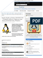 Instalar Samba en Fedora 20-19-18!17!16 - Compartir Archivos e Impresora Entre F