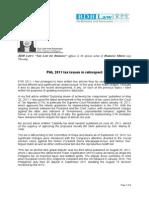 227. PHL 2011 Tax Issues in Retrospect FDM 1.12.12