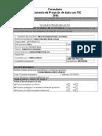 Formulario Proyectos de Aula Final