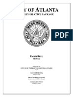 Atlanta's 2015 legislative package