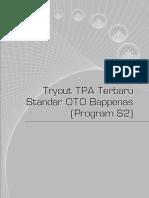 Gambaran Soal TPA OTO Bappenas 2014
