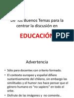 La Educación en Imagenes