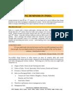Doing Business in India - California Takshila University