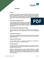 Interface Management Procedure