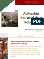Aplicacion idustrial de Robotica