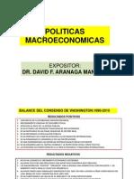 10 Politicas Macroeconomicas Mayo 2013