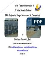English Solar Farm Proposal by TSF-Jan 2011