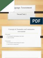 Language Assessment Brief Discussion