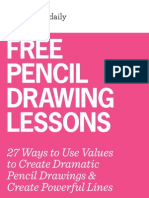 Free Pencil Drawing Lessons