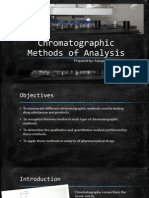 Chromatographic Methods of Analysis