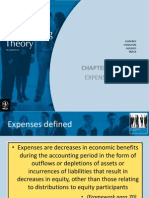 Expenses - Accounting Theory
