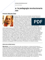 Ira y Esperanza_ La Pedagogía Revolucionaria de Peter McLaren Entrvista